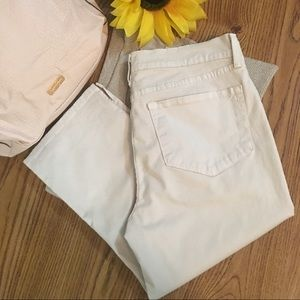 NYDJ-Not Your Daughters Jeans Capris Oatmeal 10P